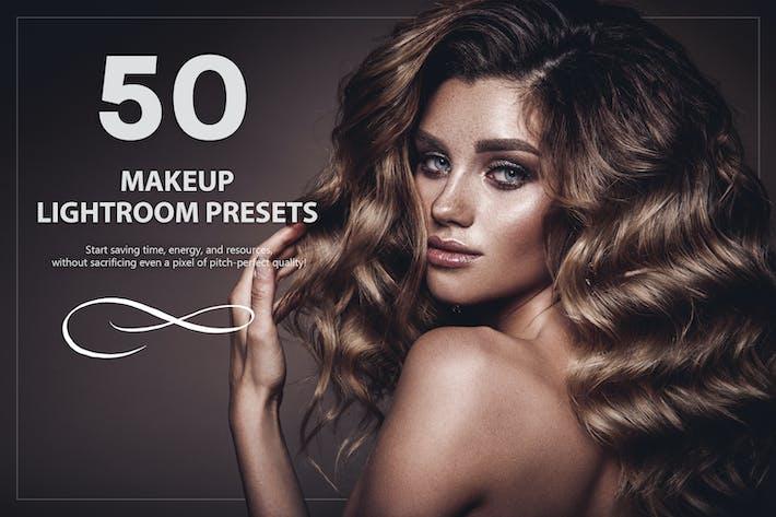 Thumbnail for 50 пресетов для макияжа Lightroom