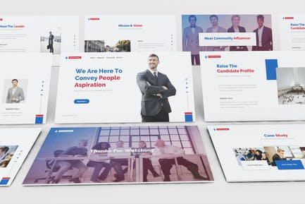 Political Party Keynote Template
