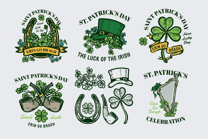 Thumbnail for Saint Patrick's Day Badges