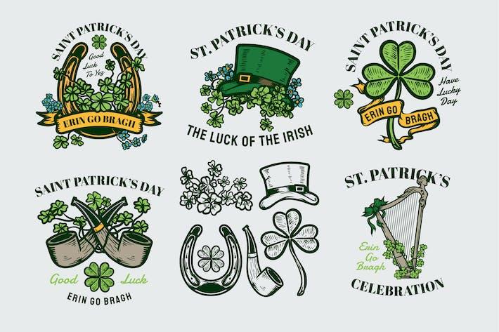 Thumbnail for Saint Patrick's Day Badges