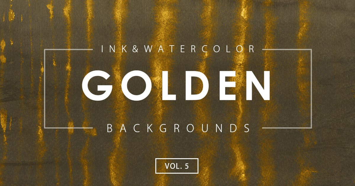 Download Golden Ink Backgrounds 5 by M-e-f