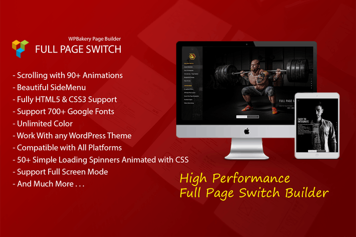 Thumbnail for Full Page Switch - Addon For WPBakery Page Builder
