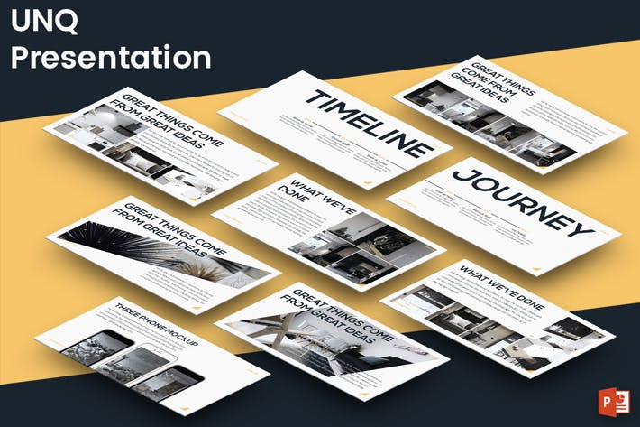 Cover Image For UNQ - Powerpoint Presentation Template