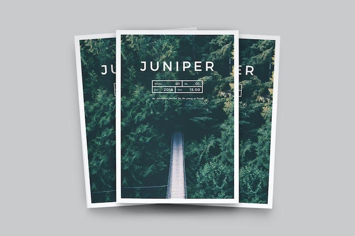 Thumbnail for J U N I P E R Magazine / Portfolio