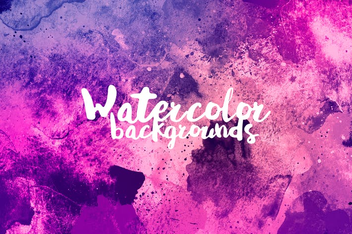 Thumbnail for Dirty Watercolor Backgrounds