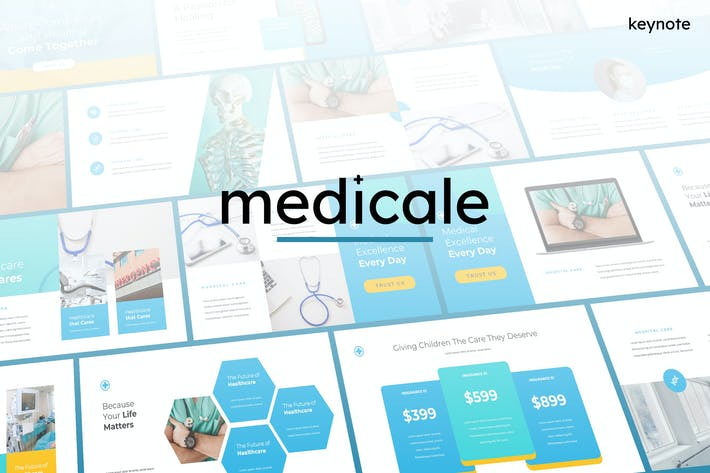 Thumbnail for Medicale - Medical Keynote Template