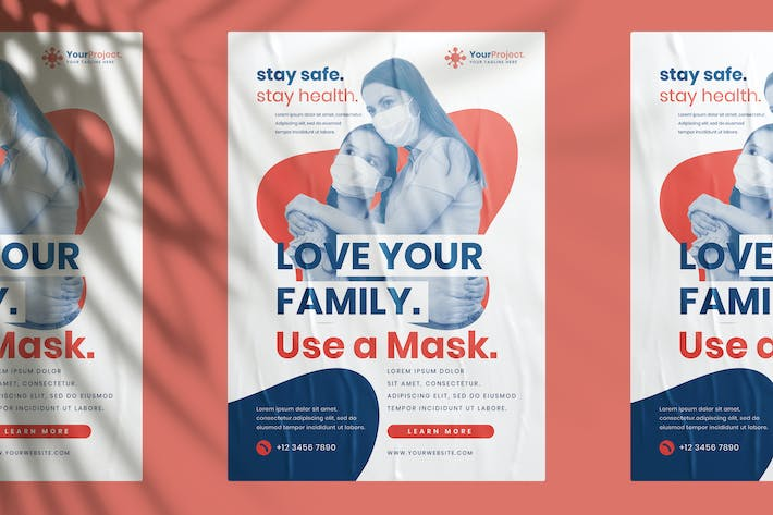 Thumbnail for Use a Masker Campaign Flyer