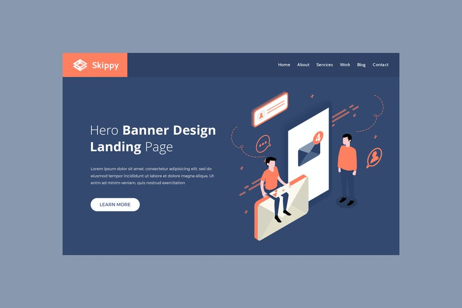 Skippy - Hero Banner Template