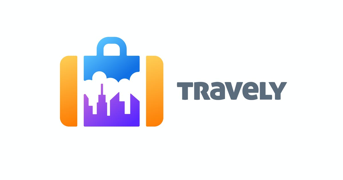 Download Briefcase and City Skyline Negative Space Logo by Suhandi