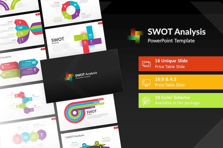 Thumbnail for SWOT Analysis Powerpoint Presentation Template