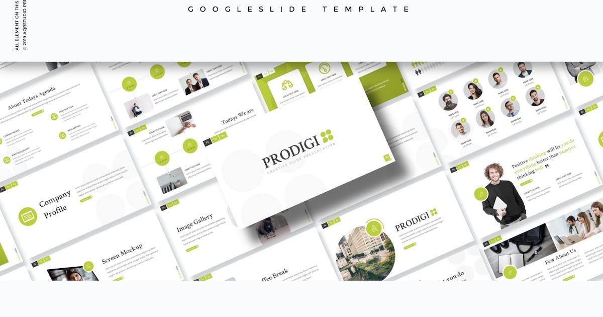 Download Prodigi - Google Slide Template by aqrstudio