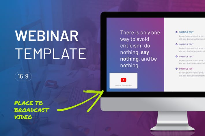 Thumbnail for Webinar Google Slides