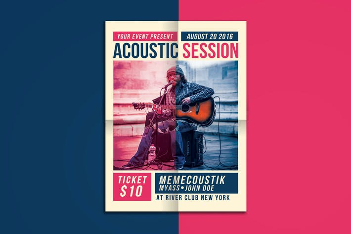 Thumbnail for Acoustic Session Flyer