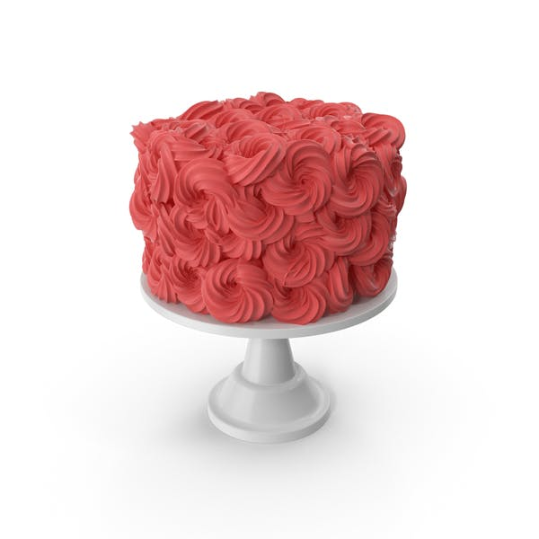 Thumbnail for Red Flower Cake