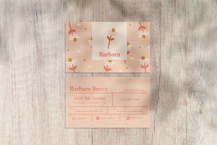 Barbara Business Card