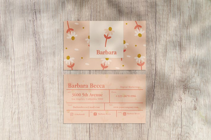 Cover Image For Barbara Business Card