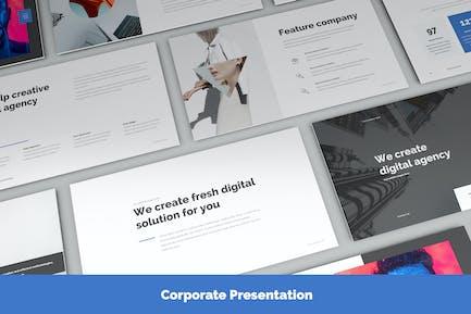 Presentation Corporate Slide