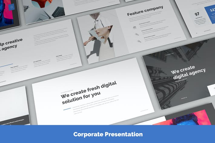 Thumbnail for Presentation Corporate Slide