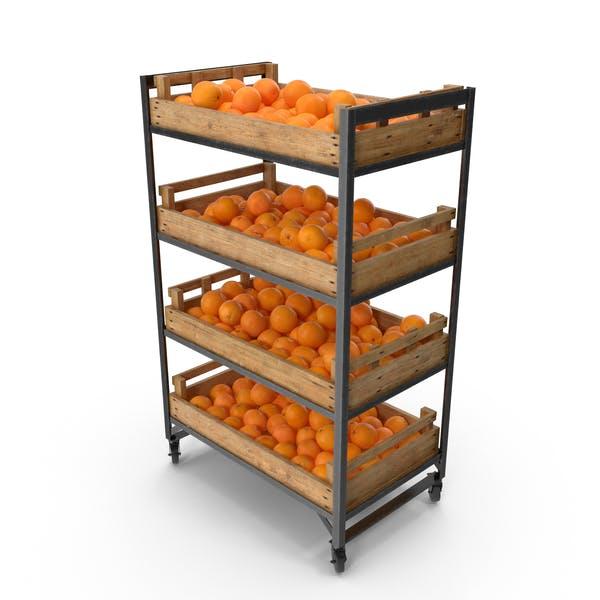 Thumbnail for Estante Comercial con Naranjas