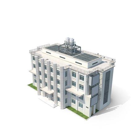 Urbanes Gebäude