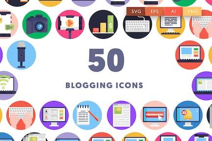 50 Blogging Icons