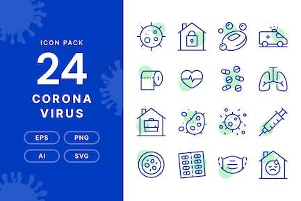 Corona Virus — Icon Pack