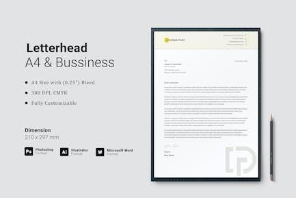 Letterhead for Microsoft Word
