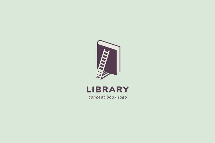 Thumbnail for Library Logo Template