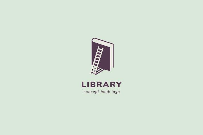 Logovorlage für Bibliothek
