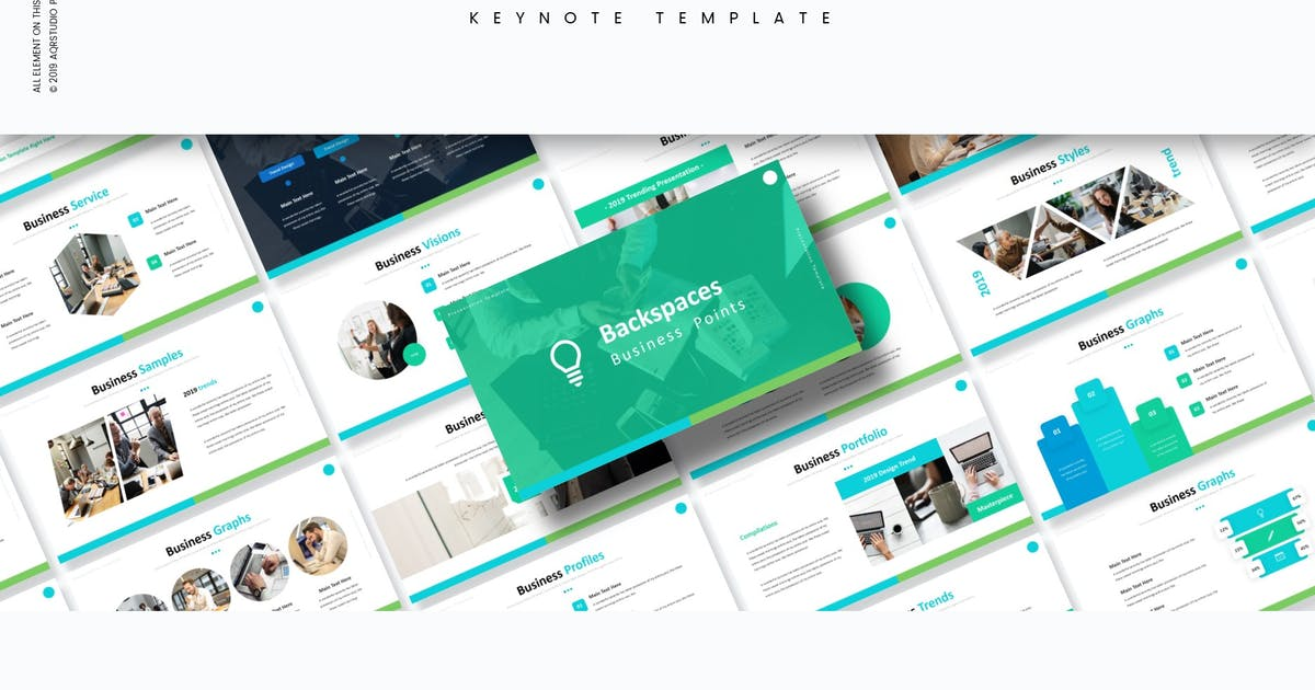 Download Backspaces - Keynote Template by aqrstudio