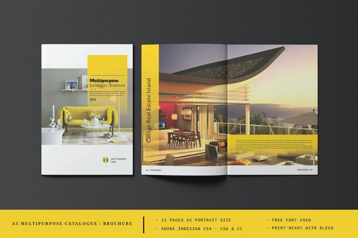 A5 Multipurpose Catalog/Brochure