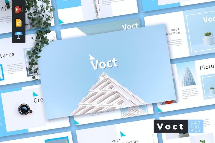 Thumbnail for VOCT - Creative Powerpoint/Google Slide/Keynote