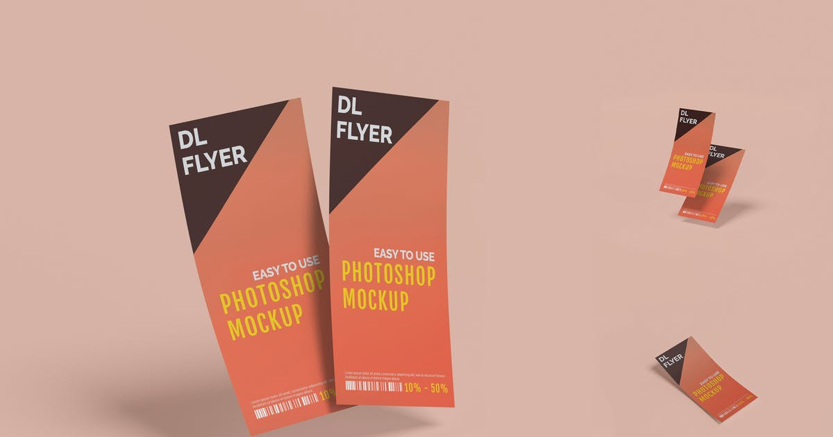 Download DL Flyer Mockup Vertical by erdp