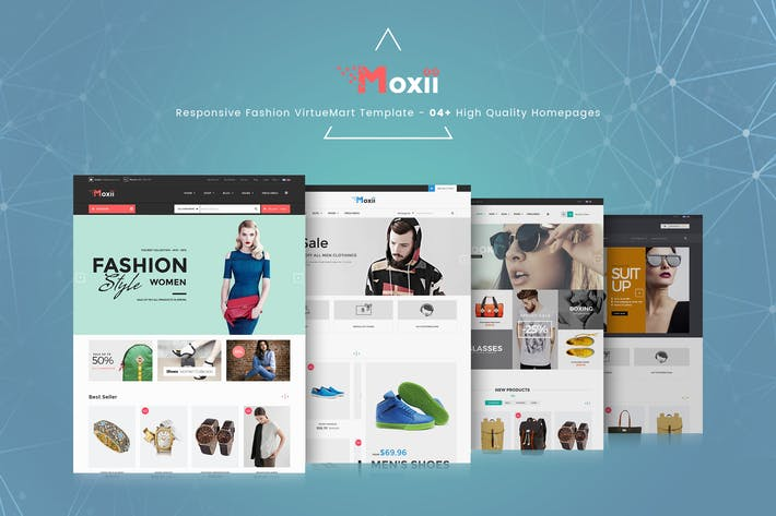 Thumbnail for Moxii - Responsive Fashion VirtueMart Template