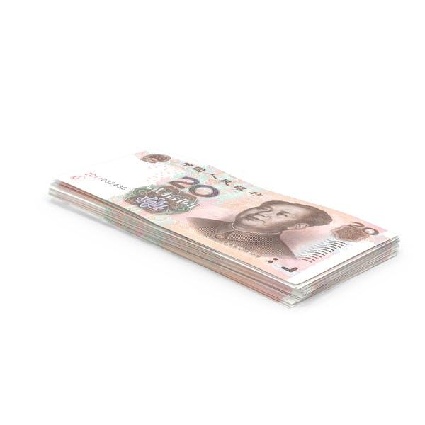 20 Yuan Note