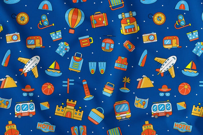 Thumbnail for Holiday Seamless Pattern