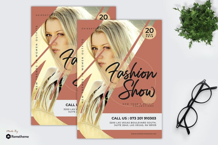 Thumbnail for Trend - Fashion Show Flyer Template RY