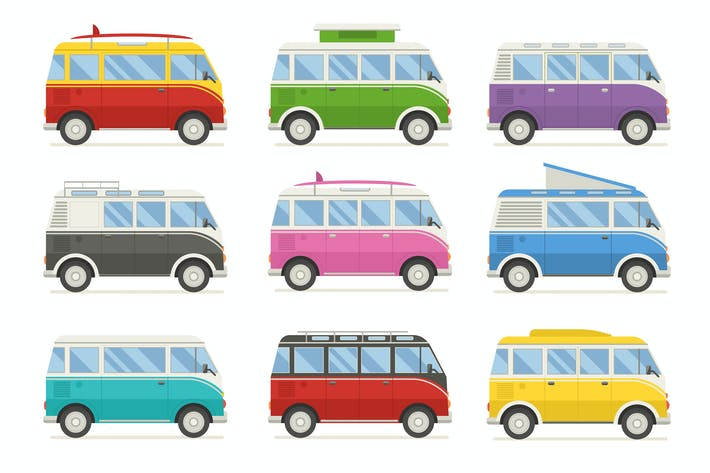 Thumbnail for Camping Classic Travel Vans and Caravans