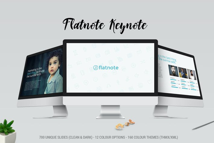 Thumbnail for Flatnote 2.0 Keynote