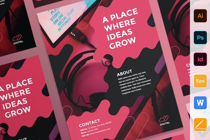 Thumbnail for Digital Advertising Agency Poster