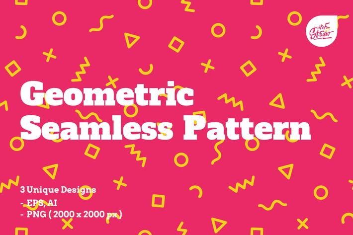 Cover Image For Geometric Seamless Patterns