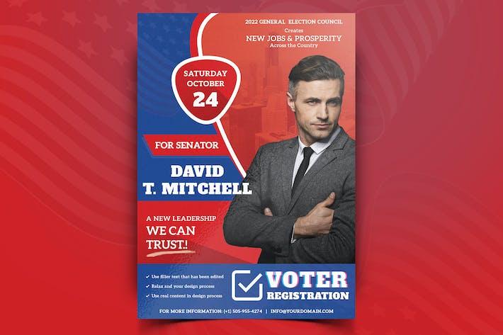 Thumbnail for Politische Kampagne Flyer Vol.01
