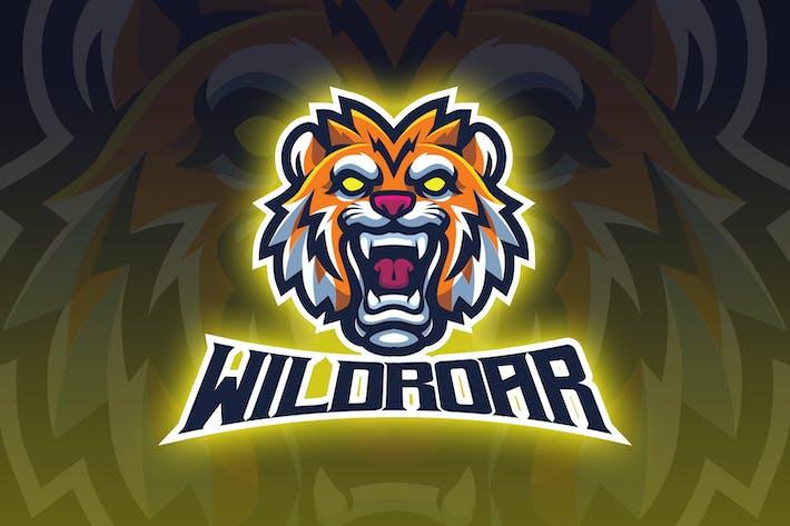 Thumbnail for Tiger Head Esport Logo