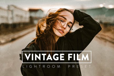 10 Vintage Film Lightroom Presets