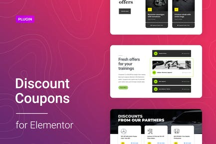 Discount Coupons for Elementor