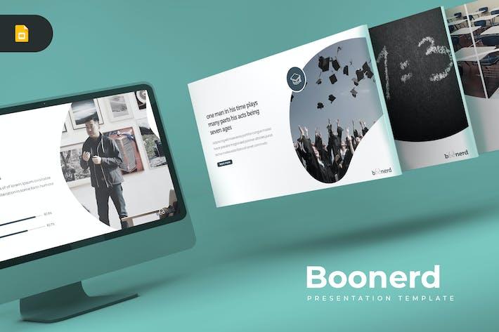 Thumbnail for Boonerd - Google Slides Template