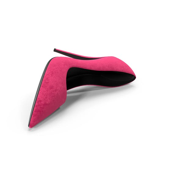 Womens Shoes Suede Pink