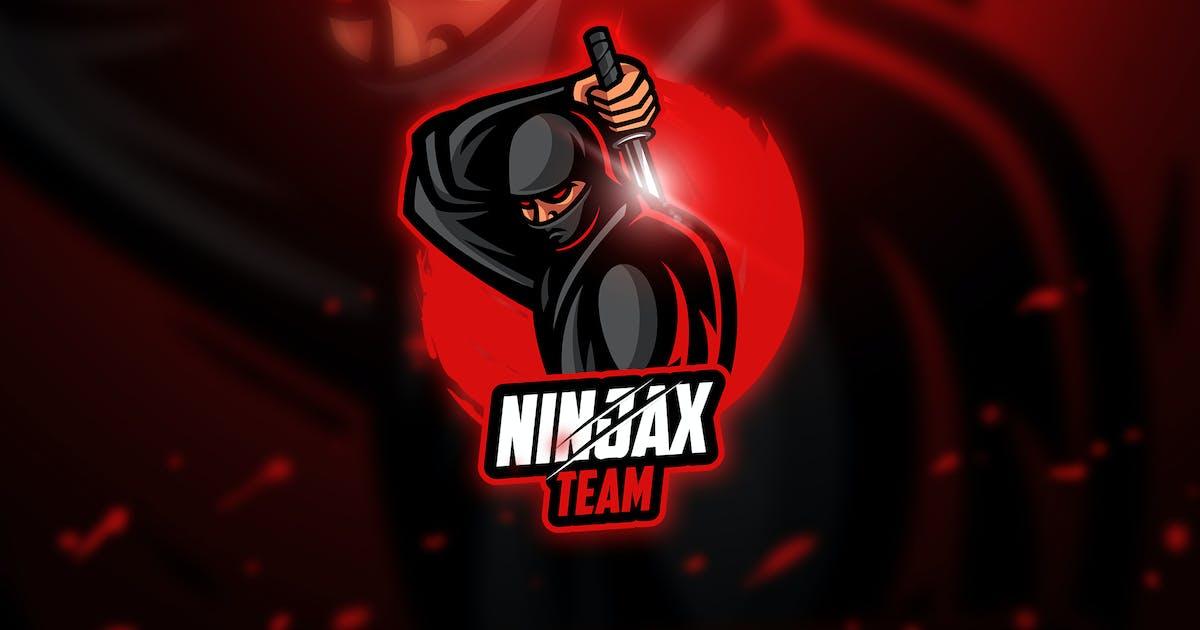 Download Ninja 3 - Mascot & Esport Logo by aqrstudio