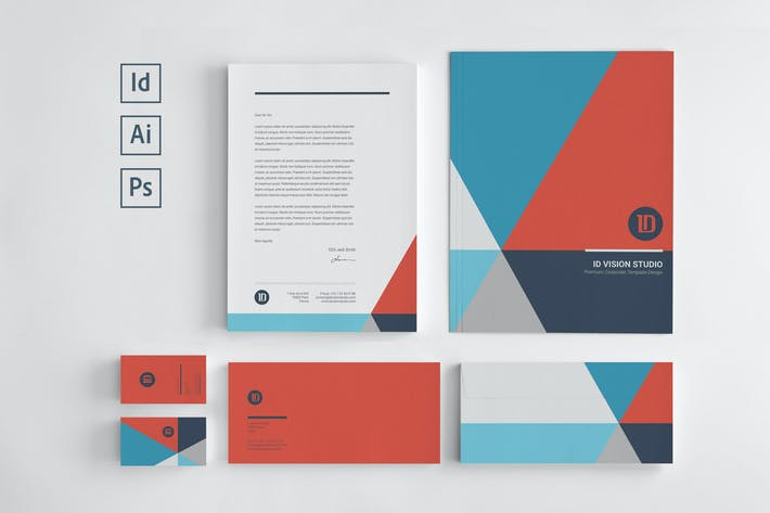 Cover Image For Stationery Corporate Identity 003