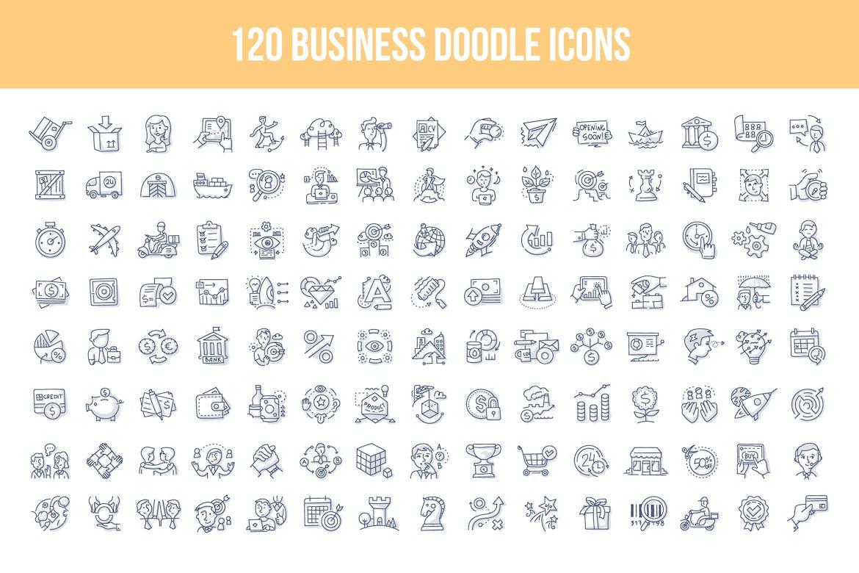 doodle icon paketi